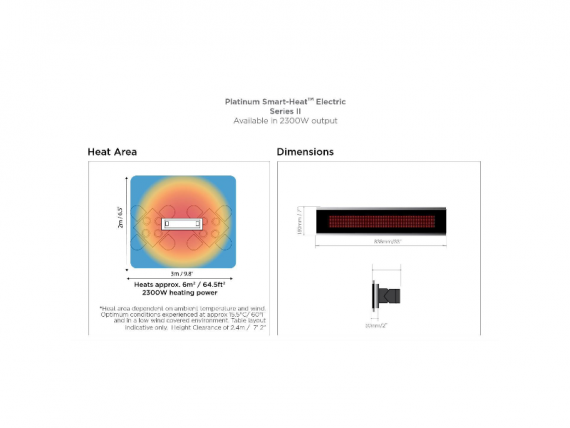 Bromic Platinum Smart Heat Electric