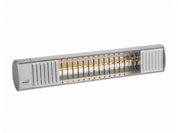 Burda TERM 2000 IP44 Ultra Low Glare Terrasheater Aluminium