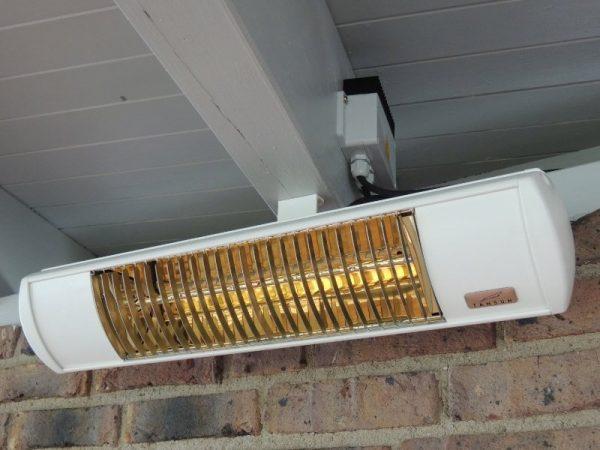 Tansun Bahama Single Ultra Low Glare Heater 1.5kW White Sfeer 1