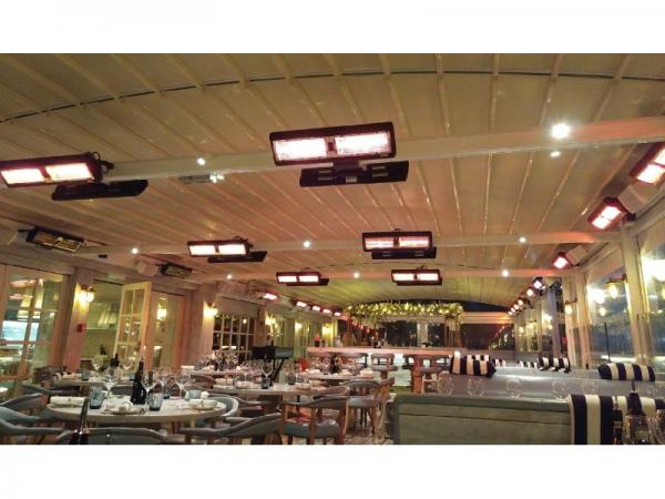 Tansun Monaco Ultra Low Glare terrasheater Double 3kW Sfeer 02
