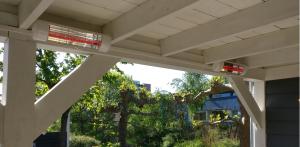 Harcosun infrarood verwarming, kortegolf, terrasheater, terrasverwarmer, terrasverwarming, patioheater elektrisch